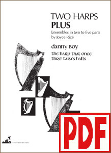 Two Harps Plus: Irish - Danny Boy and The Harp that Once Thro' Tara's Halls by Joyce Rice PDF Download