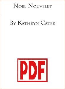 Noel Nouvelet by Kathryn Cater PDF Download