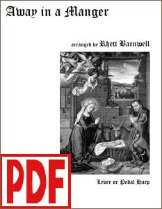 Away in a Manger by Rhett Barnwell PDF Download