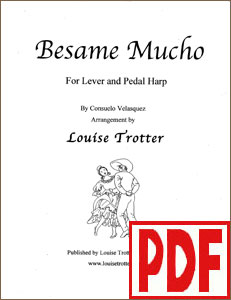 Besame Mucho arranged by Louise Trotter PDF Download