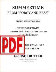 Summertime arranged by Louise Trotter PDF Download