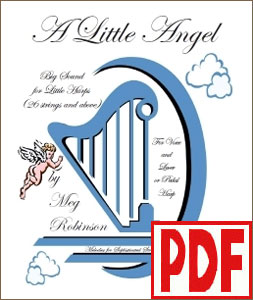 A Little Angel for harp and voice by Meg Robinson PDF Download