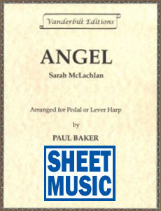 Angel by Sarah McLachlan arranged by Paul Baker <span class='blue'>Sheet Music</span>