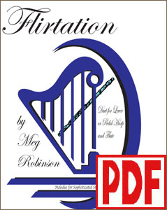 Flirtation for Flute and Harp by Meg Robinson PDF DOWNLOAD