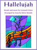 Hallelujah by Leonard Cohen sheet music arranged by Sylvia Woods