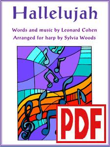 Hallelujah by Leonard Cohen arranged by Sylvia Woods PDF Download