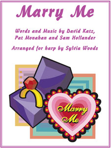 Marry Me by Pat Monahan of Train arranged for harp by Sylvia Woods sheet music