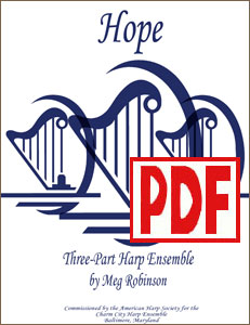 Hope for Harp Ensemble by Meg Robinson PDF Download