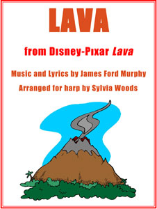 Lava from the Disney Pixar short film arranged by Sylvia Woods Sheet Music