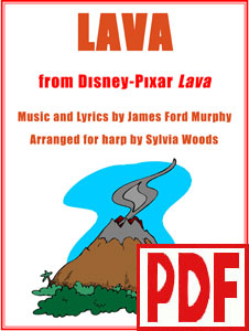 Lava from the Disney Pixar short film arranged by Sylvia Woods PDF Download