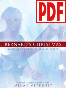 Bernard's Christmas: Variations on Works by Bernard Andres arranged by Megan Metheney PDF Download
