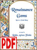 Renaissance Gems by Robin Fickle PDF Download