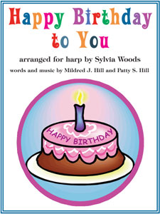 Happy Birthday to You sheet music arranged by Sylvia Woods