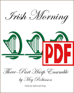 Irish Morning for harp ensemble by Meg Robinson PDF Download