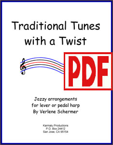Traditional Tunes with a Twist by Verlene Schermer <span class='red'>PDF Download</span>