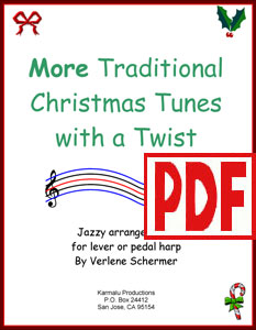 More Traditional Christmas Tunes with a Twist by Verlene Schermer PDF Download