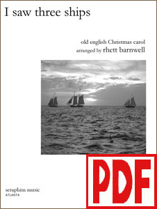 I Saw Three Ships by Rhett Barnwell <span class='red'>PDF Download</span>