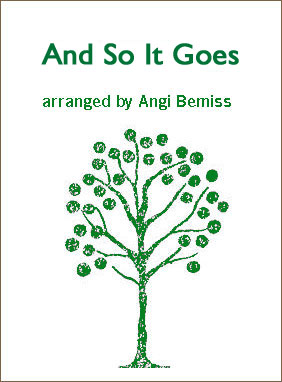 And So It Goes by Billy Joel sheet music arranged by Angi Bemiss