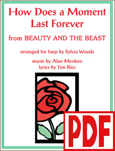 How Does a Moment Last Forever from Beauty and the Beast arranged by Sylvia Woods PDF Download