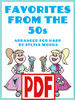 Favorites from the 50s by Sylvia Woods PDF Download