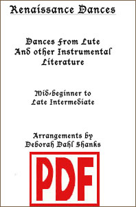 Renaissance Dances by Deborah Dahl Shanks PDF Download