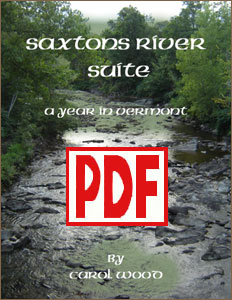 Saxtons River Suite: A Year in Vermont by Carol Wood PDF Download