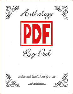 Anthology Fake Book: 50 Themes and Melodies for Every Harpist by Ray Pool