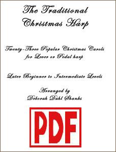 Traditional Christmas Harp by Deborah Dahl Shanks PDF Download