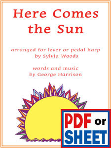 Here Comes the Sun by George Harrison arranged by Sylvia Woods