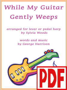 While My Guitar Gently Weeps by George Harrison arranged by Sylvia Woods PDF Download