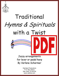 Traditional Hymns & Spirituals with a Twist by Verlene Schermer <span class='red'>PDF Download</span>