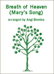 Breath of Heaven sheet music arranged by Angi Bemiss